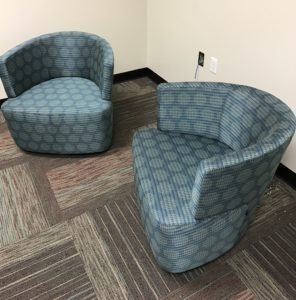 Office Chairs and Carpeting solutions provided by Marathon Building Environments